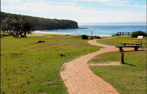 Camping and accommodations with NSW national park